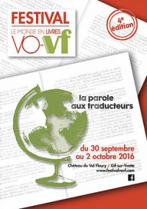 Affiche du Festival VO-VF 2016